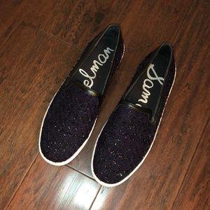 Sam Edelman Navy Tweed Sneakers 8.5